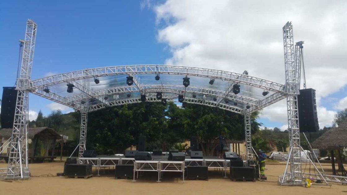 Highly Used Oudoor Event Aluminum Stage Lighting Truss With