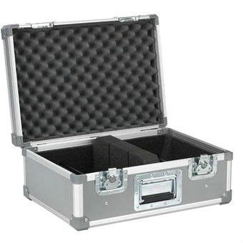 Aluminum Travel Case Silvery 10mm Plywood / Moving Head Light Case