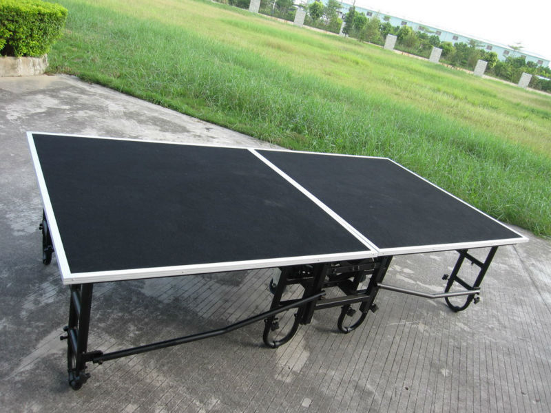 Portable Stage Platforms / Foldable Stage Platform For Small Event