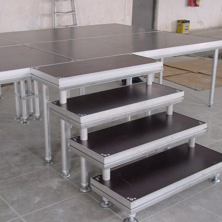 Alloy Assembly Portable Stage Platforms For Sound System And Dj Equipments
